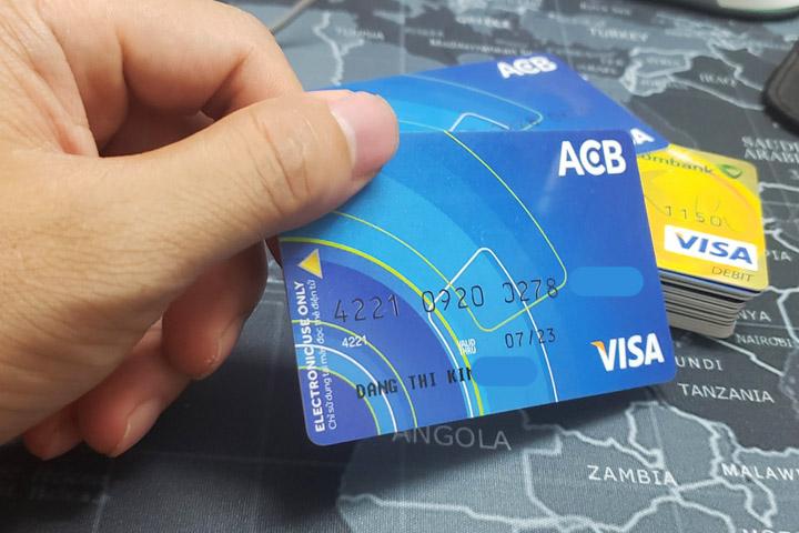 Thẻ tín dụng cho sinh viên - ACB