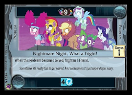 My Little Pony Nightmare Night, What a Fright! Marks in Time CCG Card