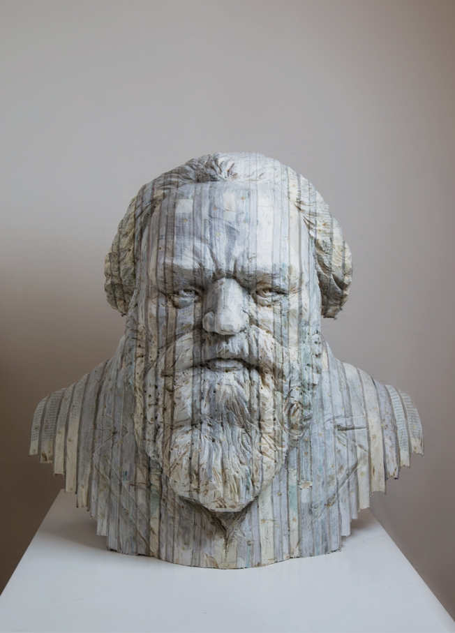15-Brahms-Long-Bin-Chen-A-Second-Life-for-Recycled-Book-Sculpting-www-designstack-co