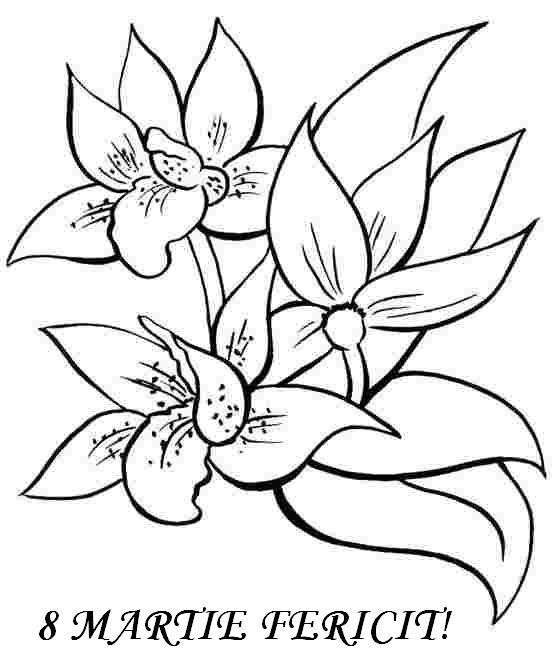 Planșe De Colorat Pentru Ziua Mamei Planșe Pentru 8