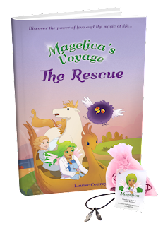 Magelicas Voyage: The Rescue by: Louise Courey Nadeau (Book Review)