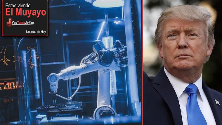 Robot DJ, Trump critica a Amazon, Android, Criptomonedas | El Muyayo