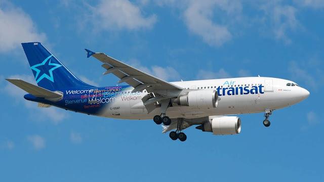 En Kötü Ekonomi Koltuklarına Sahip 10 Havayolu Şirketi Air Transat