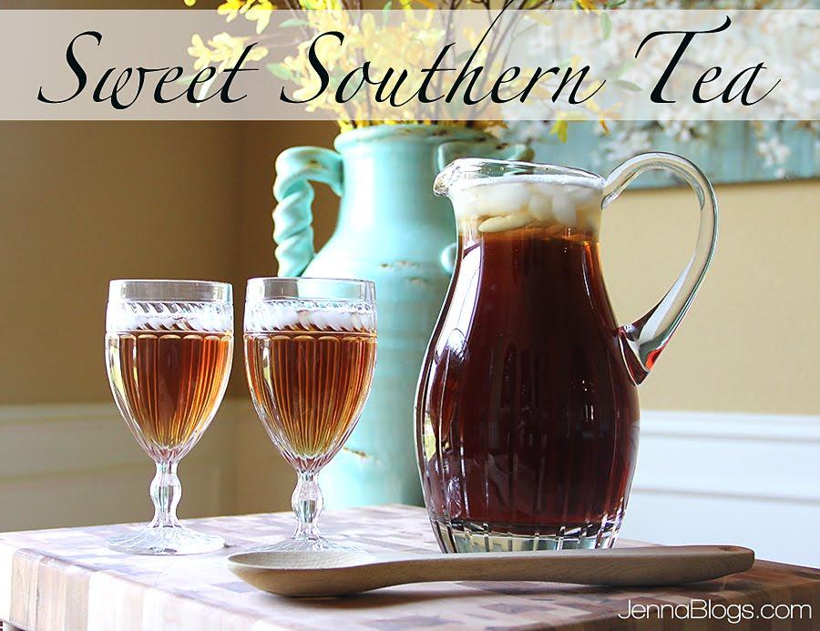 Jenna Blogs: Sweet Southern Tea