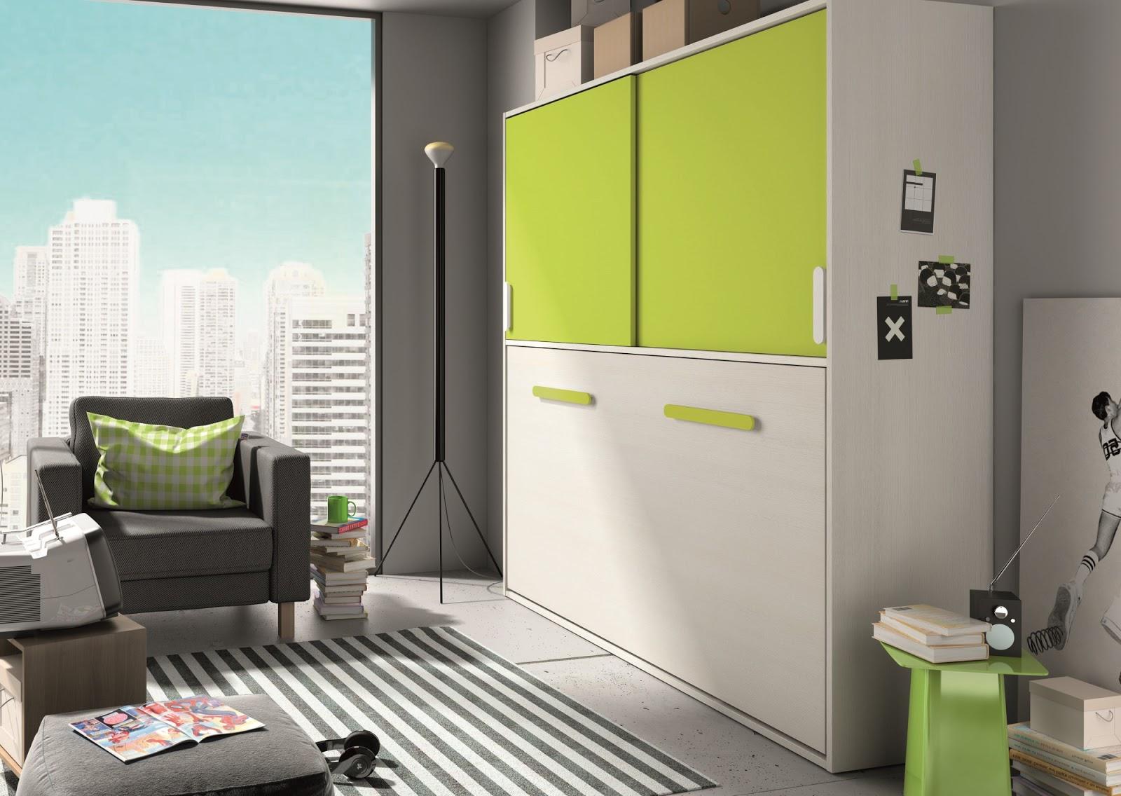 Wall beds ecuador camas abatibles la soluci n m s - Habitaciones juveniles camas abatibles horizontales ...