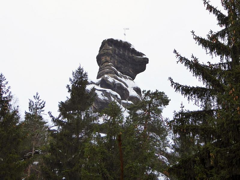 Klettersteig Jonsdorf : Naturwunder zu den nonnenfelsen von jonsdorf im winter