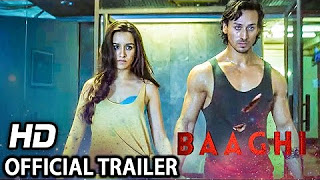 Baaghi Official Trailer _ Tiger Shroff & Shraddha Kapoor _ Releasing April 29