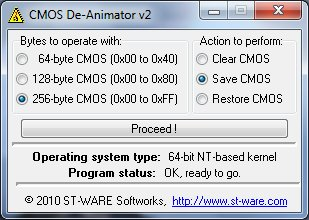 Download CMOS De-Animator 3.0
