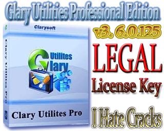 Glary Utilities Professional Edition v3. 6.0.125 Free Download With Legal Registration Code