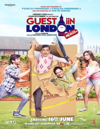 Guest in London (2017) Hindi 600MB HDRip 720p HEVC x265