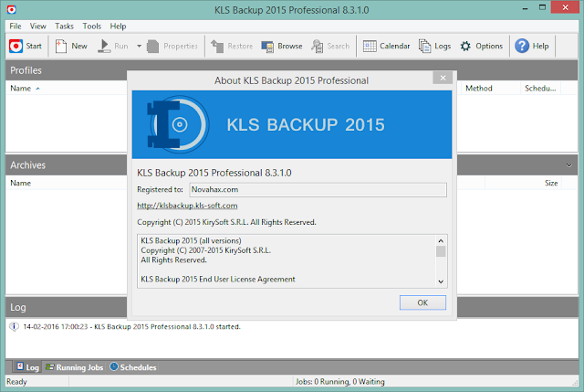 KLS Backup 2015 Professional Crack