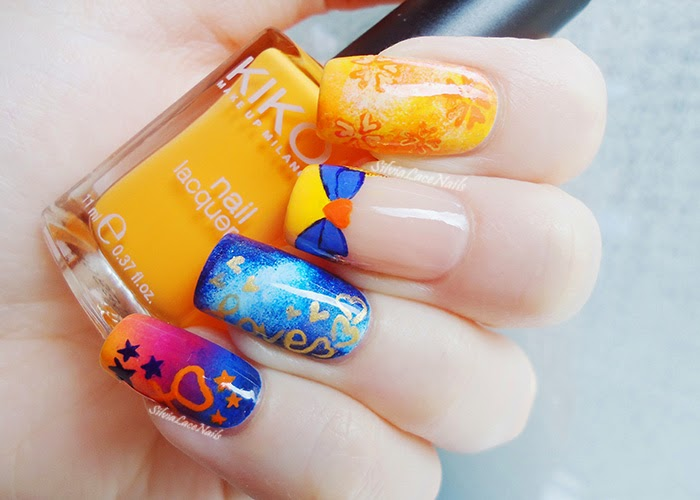 Sailor Venus Nail Art