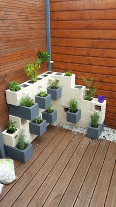 31ba568e5f357a3c74f0e32abe19dae1--perso 25 Stunning Planter Concrete Blocks Alternatives to Transform Your Backyard And That Are All Your Front Porch Needs Interior
