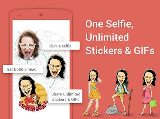 Cara membuat Stiker Lucu dengan Foto Sendiri di Android