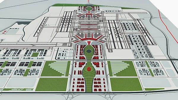 Trung Quốc thông qua dự án xây dựng Cảng HKQT mới Bắc Kinh (BNIA)