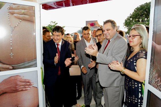 Em alusão à conquistas positivas na rede estadual de estrutura materno  infantil da região litorânea, o Governo do Estado inaugurou o Centro de  Parto Normal ... 5c9df172b4