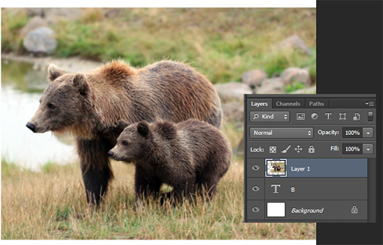 Tutorial cut out image of text di photoshop, efek foto photoshop