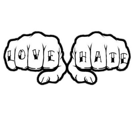 Pribadi Penuh Cinta dan Pribadi Penuh Benci