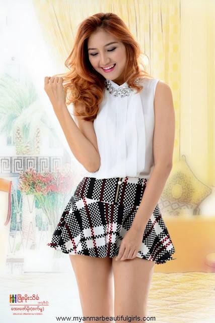 myanmar model girl on Women's World Journal Cover