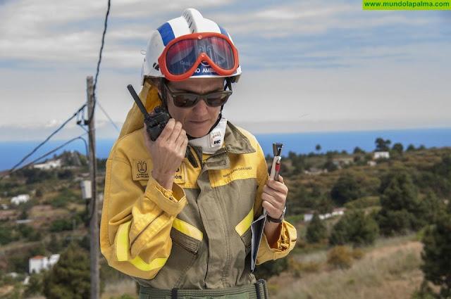 Se produce, esta tarde, un conato de incendio en La Traviesa, Puntagorda
