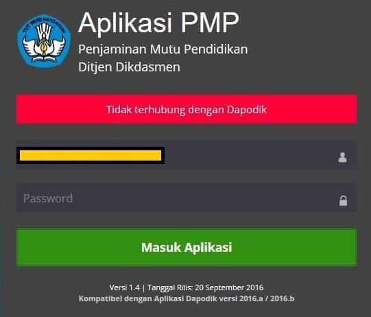 gambar error PMP 1.4