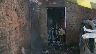 Incêndio atinge casa em zona rural de Remígio