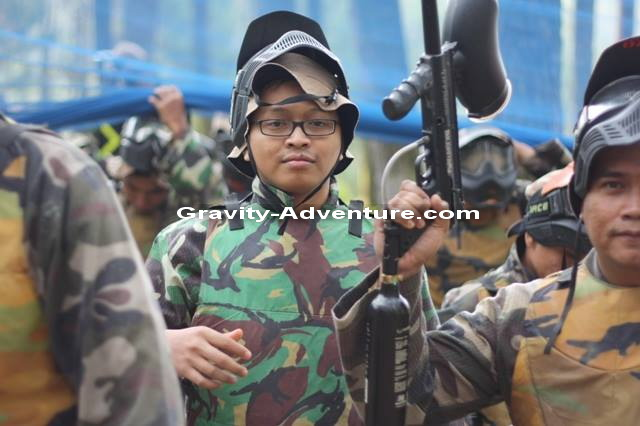 Paintball di Bandung Gravity Adventure
