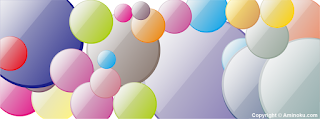 Sampul Facebook - Bubble Color