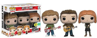 Funko Pop! Pop! Movies: Scott Pilgrim vs. The World – Sex Bob-Omb 3-pack