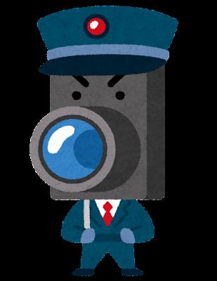 防犯カメラのキャラクター
