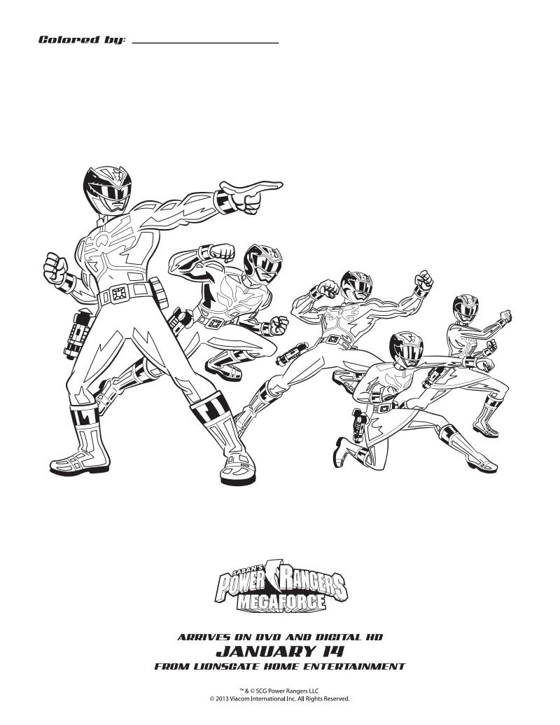 Simply Me: Power Rangers Megaforce: The Mysterious Robo