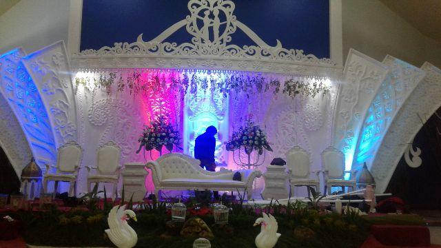 Dekorasi Pernikahan Menggunakan Styrofoam di bandung