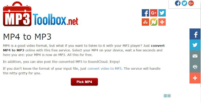 mp3toolbox.net best free online converter to convert mp4 flv avi files to mp3 without any software