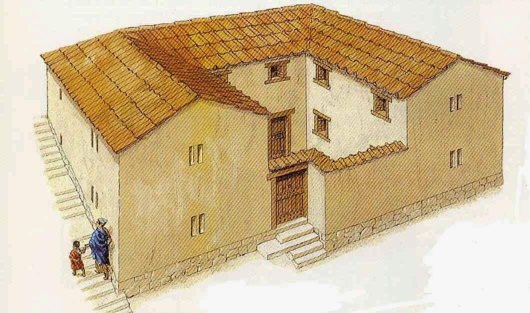 Casa de la antigua Roma