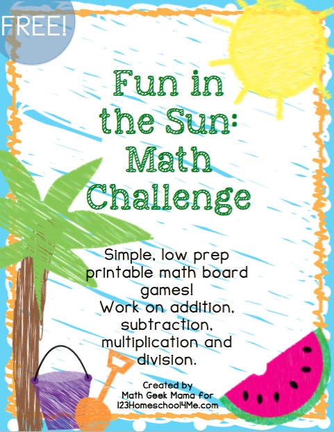 Fun Summer Math Games