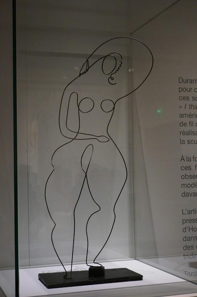 Alexander Calder - femme nue 1929 Musee Soulages
