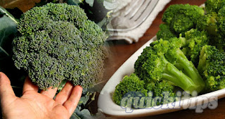 How to cook a precious steamed broccoli easily?