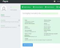 MateBux - dowód wypłaty 2016