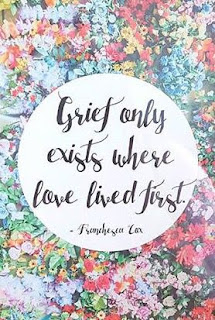 grief only exists where love lived first, stillbirth, infant loss
