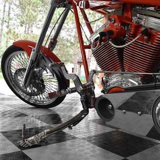 Greatmats motorcycle parking mats