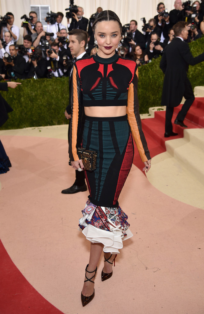 Miranda Kerr at the 2016 MET Gala