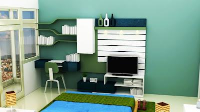 Shahi design - Master bedroom study table ...
