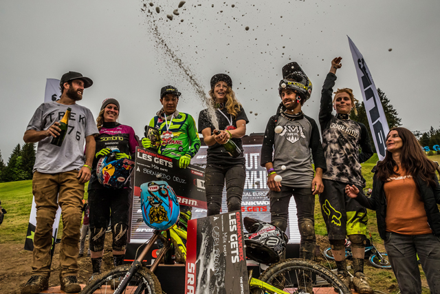 2016 Crankworx Les Gets European Whip-Off Results