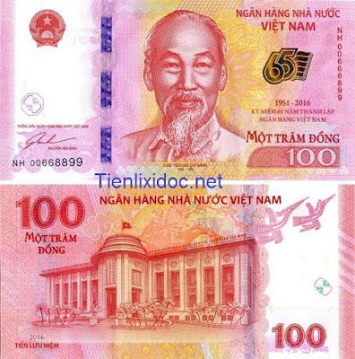 100 đồng lưu niệm