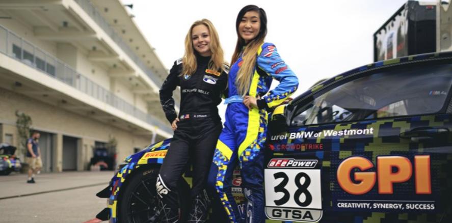 Speedqueens Samantha Tan