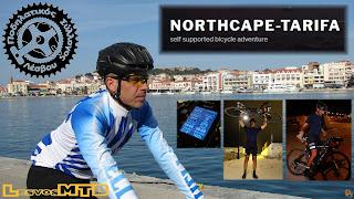 Ο Στέφανος από τη Στύψη διέσχισε την Ευρώπη με ποδήλατο- 1ος στο NorthCape-Tarifa 2018 με 20 μέρες, 1 ώρα και 56 λεπτά