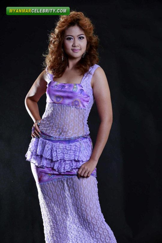 Myanmar Pretty Teenage Model Shwe Poe Aein