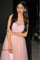 Actress Nidhisha Reddy Pos in Beautiful Pink Dress at Virus Telugu Movie Audio Launch .COM 0048.JPG