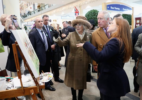 Prince Charles and Duchess Camilla of Cornwall attended the Prince's Countryside Fund Raceday at Ascot
