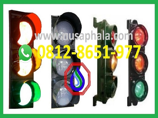 lampu traffic light 3 aspek